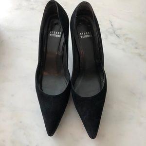 Black sued Stuart Weitzman heels